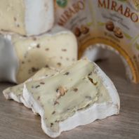 Mirabo Brie with Walnut