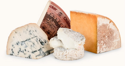 International Variety of Cheeses